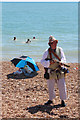 TQ8209 : Gunman on Pelham Beach, Pirate Day by Oast House Archive