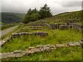 SD7522 : The Remains of Hartley House, Haslingden Grane by David Dixon
