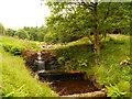 SD7422 : Stream into Calf Hey Reservoir by David Dixon
