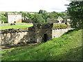 NS8146 : Craignethan Castle - main entrance by M J Richardson