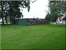 NT2273 : Roseburn Park by Thomas Nugent