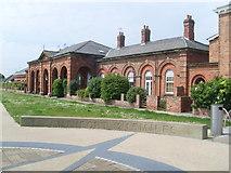 TA2047 : Former Railway Station, Hornsea by David Hillas