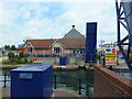 TQ6401 : Harvester at Sovereign Harbour, Eastbourne by PAUL FARMER