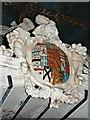 SU1084 : Coat of Arms, The St John tomb, St Mary's Church, Lydiard Tregoze, Swindon by Brian Robert Marshall