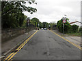 SJ3885 : Mersey Road railway bridge by John S Turner