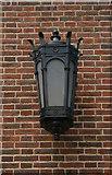 TQ1649 : Exterior lamp, Dorking Post Office by Julian Osley