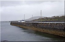 M2208 : The old pier, Ballyvaughan, Co. Clare by P L Chadwick