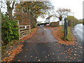 ST1788 : Entrance to Sunnybank Farm Equestrian Centre near Caerphilly by Jaggery