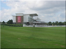 SE4248 : Grandstands at Wetherby Racecourse by peter robinson