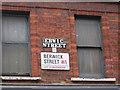 TQ2981 : Street signs, Berwick St, Soho W1 by Christopher Hilton
