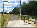 TL4554 : Trumpington - busway halt by Sandy B
