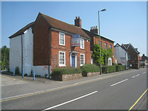 SU6351 : Sign of the times - Winchester Road by Sandy B