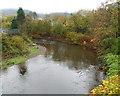 SS9895 : Fishing in the Rhondda Fawr, Gelli by Jaggery
