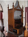 TM3475 : Organ of St Michael and All Angels' Church by Adrian Cable