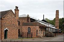 SJ6903 : Morton's Ironworks by Alan Murray-Rust