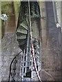 NU2322 : Stairway, Holy Trinity Church by Derek Voller