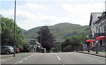 NN3825 : A82 passing Crianlarich Hotel by John Firth