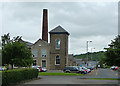 NT4729 : Former mill buildings on Dunsdale Road, Selkirk by John Allan