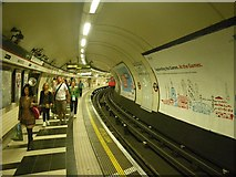TQ3179 : Patrons of the Waterloo Station by C Michael Hogan