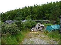 NG5536 : Pile of lumber by James Allan
