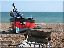 TQ2804 : On Hove Beach by John Sutton