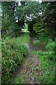 TL1777 : Muddy Ford at Alconbury Weston by John Walton