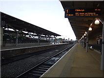 SK3635 : Platform 1, Derby Railway Station by JThomas