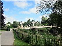 SO5139 : Hereford Victoria Bridge by Roy Hughes