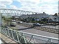TQ2186 : Kenwyn Drive footbridge, London NW2 by Jaggery