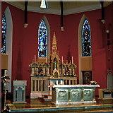 R3377 : Ennis - Francis Street - Franciscan Friary Altar by Joseph Mischyshyn
