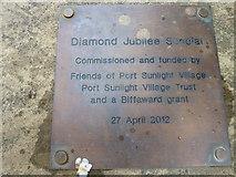 SJ3384 : Mid summer 2012 at Port Sunlight (XXVII) by Basher Eyre