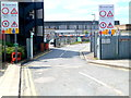 TQ2185 : Entrance to Neasden Depot by Jaggery