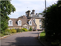 TM3876 : The entrance to Highfield Residential Home by Adrian Cable