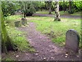 SE3219 : Pets' cemetery, Thornes Park by Mike Kirby