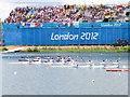 SU9377 : Women's K4, Olympics sprint canoeing, Eton Dorney by David Hawgood
