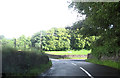 NS3964 : Road junction to Pannell Farm by John Firth