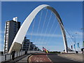 NS5765 : Clyde Arc / Squinty Bridge by Gareth James