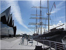 NS5565 : Riverside Museum and SV Glenlee, Glasgow by Gareth James