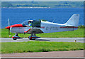 NM9035 : Robin at Oban Airport by The Carlisle Kid