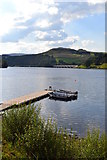 SK2086 : Boats on Ladybower with view to Ashopton Viaduct by Neil Theasby