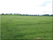 SE2425 : Playing Fields - viewed from The Balk by Betty Longbottom