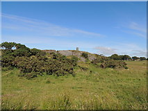 NS2916 : Viewpoint Cairn on Brown Carrick Hill by Billy McCrorie