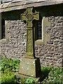 SK0971 : War Memorial in Christ Church churchyard  by Graham Hogg