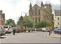 NY9364 : The Abbey Church, Hexham Northumberland by Derek Voller