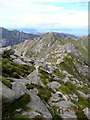 NR9941 : Looking north on the Stacach Ridge by Gordon Brown