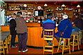 M2208 : The Burren - Ballyvaghan - R477 - Monk's Seafood Pub & Restaurant - Bar by Joseph Mischyshyn