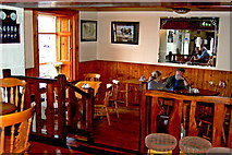 M2208 : The Burren - Ballyvaghan - R477 - Monk's Seafood Pub & Restaurant - Dining Area by Joseph Mischyshyn