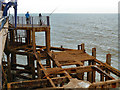 TV6198 : Disused Landing Stage, Eastbourne Pier by David Dixon