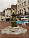 TV6199 : The Curling Drinking Fountain, Seahouses Square by David Dixon