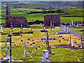 M1306 : The Burren - R477 - Craggagh - Killonaghan Church Ruins & Graveyard by Joseph Mischyshyn